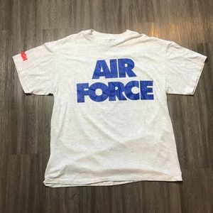 Vintage 90s AIR FORCE T Shirt US Military